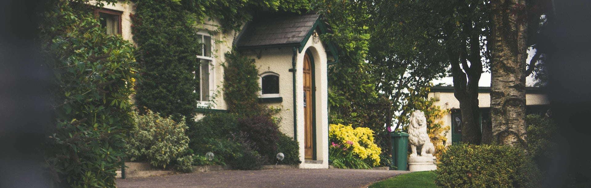 Voordeur van een woning